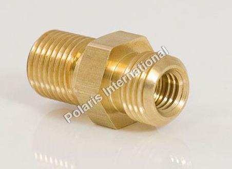 Brass Hex Reducing Nipple