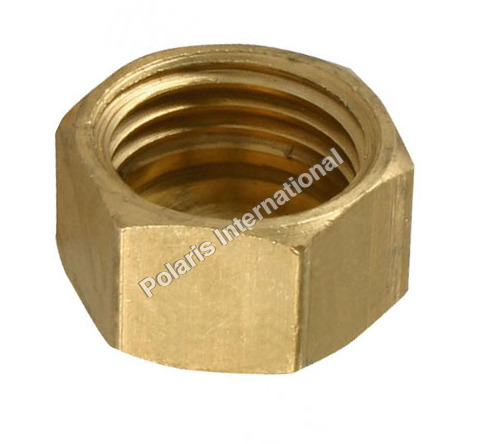 Brass Hex End Nut