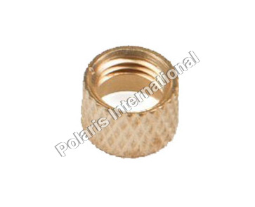 Brass Knurling Round Nut