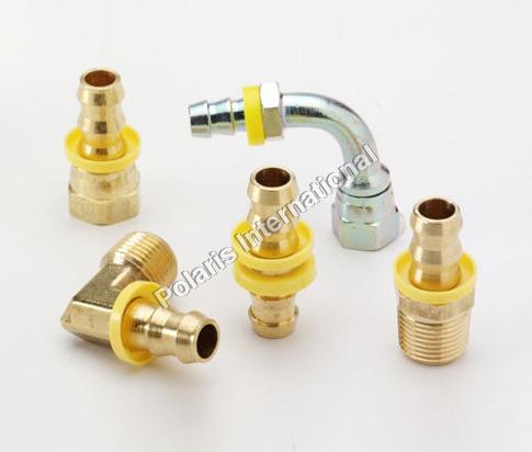 Brass Push Lock Hose Barb