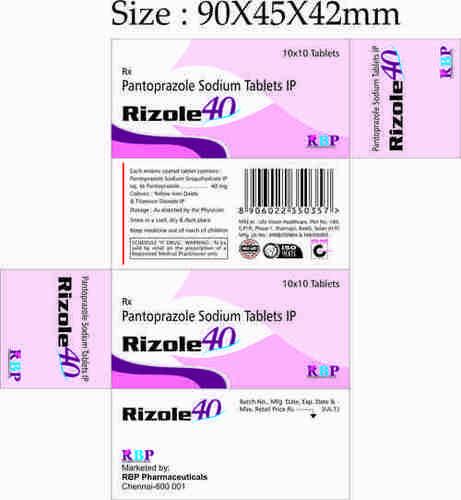 RIZOLE-40 TABLET