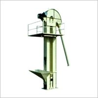 Vertical Bucket Elevator Capacity 1 TPH to 25 TPH