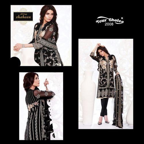 Black Embroidery Salwar Kameez