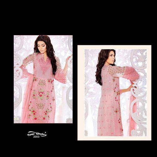 Straight Punjabi Dress material