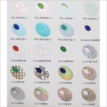 Metallic Stamping Foils