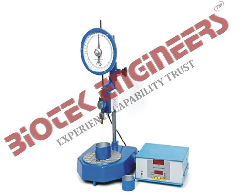 STANDARD PENETROMETER WITH AUTOMATIC TIMER