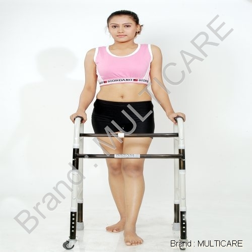 Adjustable Walker Folding Wheels