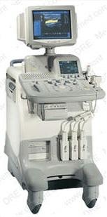 Refurbished GE Logic P6 Ultrasound Machine.