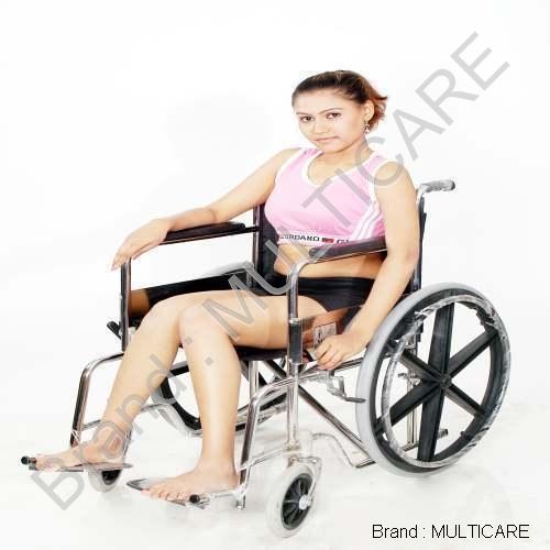 Folding Wheel Chair (Super Deluxe)