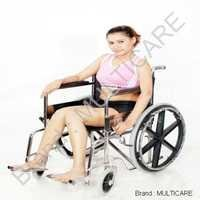 Folding Wheel Chair (Super Deluxe)