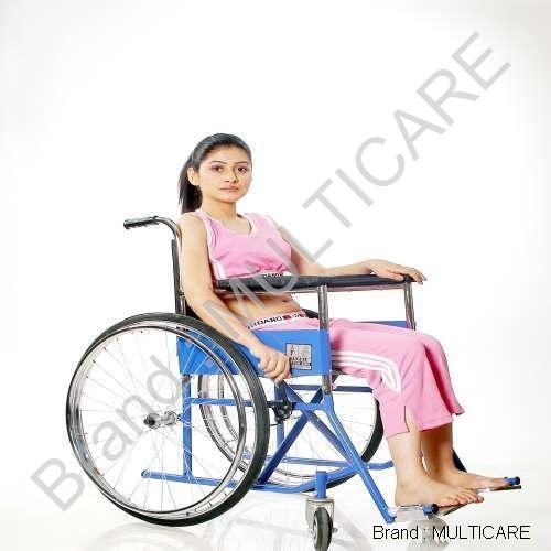 Folding Wheel Chair (Deluxe)