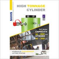 Hydraulic Tonnage Cylinder