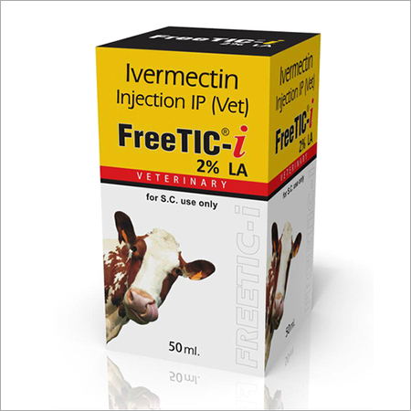 Ivermectin Injection 2% LA 50ml