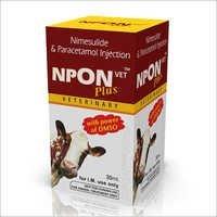 Nimesulide Paracetamol DMSO Injection