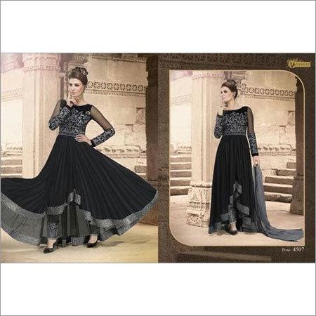 Net Anarkali Designer Dress