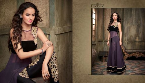 Designer Anarkali Dress Material