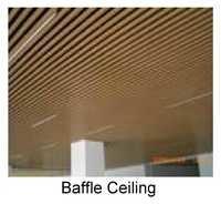 Baffle Ceiling