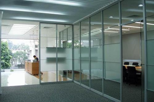 Aluminium & Glass partitions