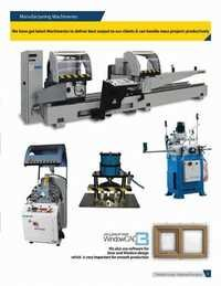 Manufacuring Machineries