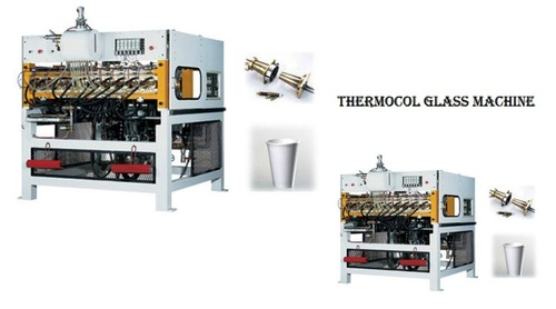 THERMOCOLE TYPE DISPOSABEL GLASS CUP MAKING MACHINE