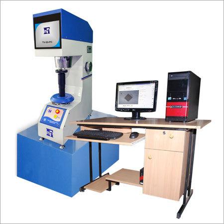 Computerised Vickers Hardness Testing Machine