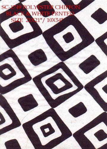Chiffon Polyester Scarves