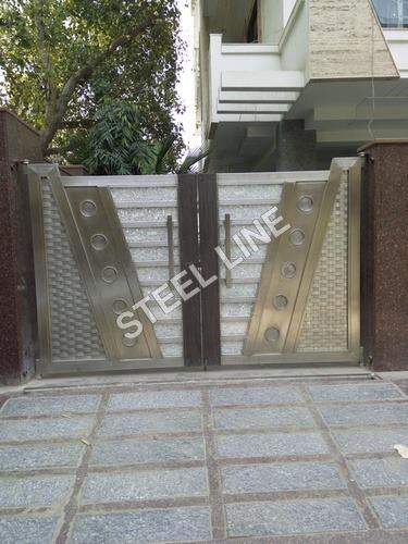 Satainless Steel Main Gate