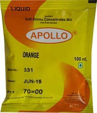 Liquid Orange Soft Drink Concentrate