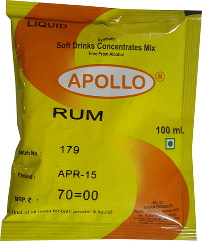 Rum Soft Drink Concentrate
