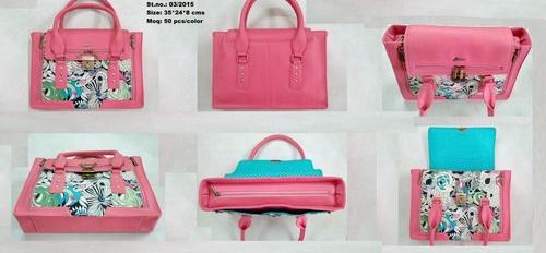 Stylish Ladies Pink Bag