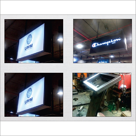 Backlit LED Clip-on Box
