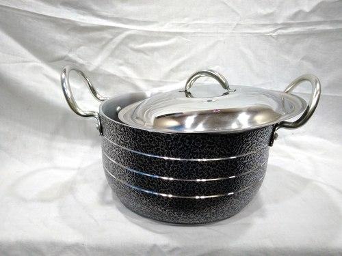 Aluminum black Stewpot