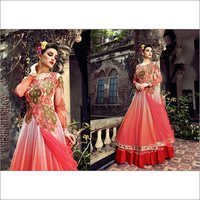 Buy Pink net Embroidery Exclusive Salwar suit