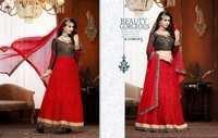 Bridal Red Kasmeera Lehenga Suit