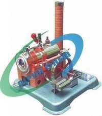 Steam Engine Dry Fuel Heated