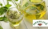 Herbline Organic Green Tea With Tea Leaves