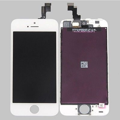 LCD Display+Touch Screen Digitizer Assembly Replacement for iPhone 5S