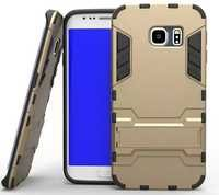 2 in 1 PC+TPU Covers Holder Durable With Kickstand For Samsung Galaxy S6 S6 Edge
