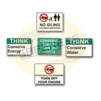 Conservation Safety Signs