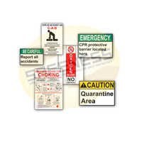 Healthcare Safety Signs