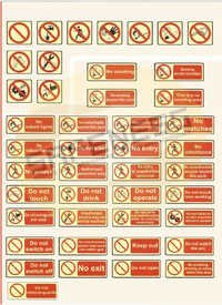 Regulatory Safety Signs