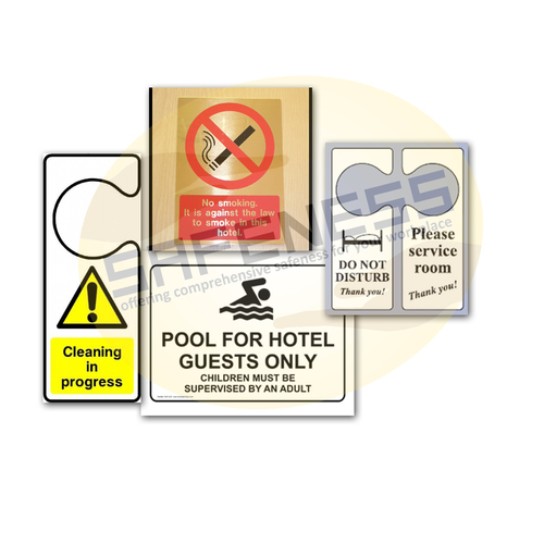 Hotel Safety Signs