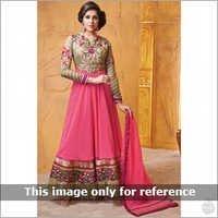 Pink Anarkalis Suits
