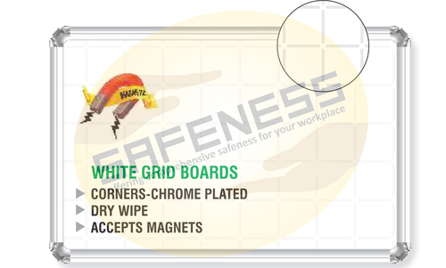 Chrome Plated White Boards
