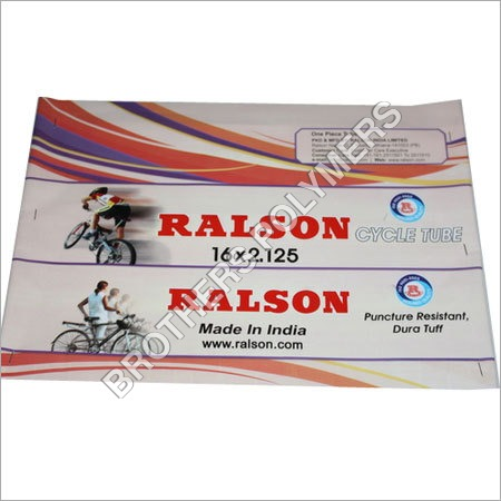 Cycle Tube Plastic Packaging Pouch