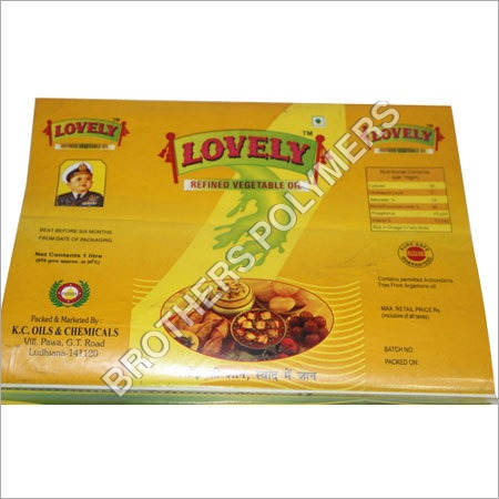 Edible Oil Pouches