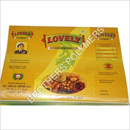 Edible Oil Pouches