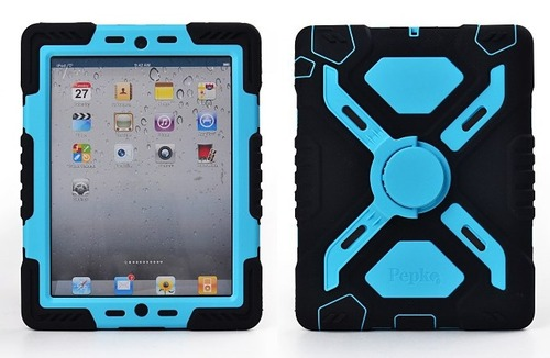 Shock/Dirt/Water Proof Stand Case Cover For iPad 2 3 4 5 6
