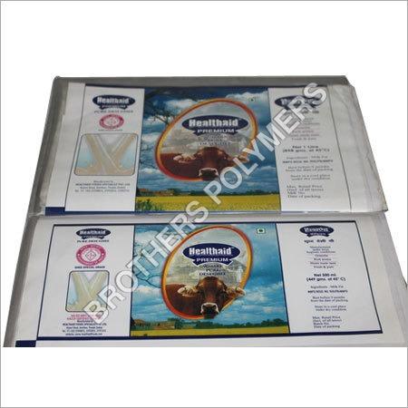Desi Ghee Packaging Pouch