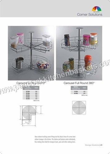 Rounded Storage Baskets